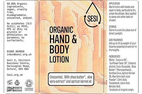 Organic hand & body lotion (100g)