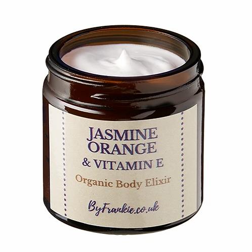 Jasmine, orange & vitamin E body elixir By Frankie