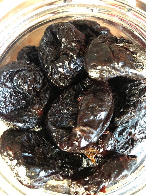 Organic pitted prunes (100g)