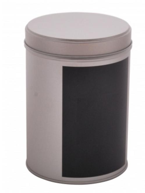 Stainless steel storage tin