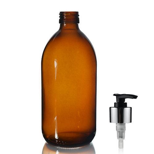 Amber glass dispensers