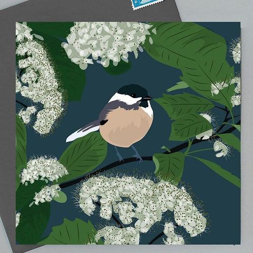 Watlington woodland greetings card by Lorna Syson
