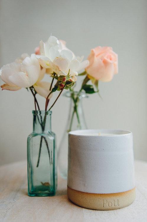 Rosa Pott refillable candle