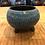 Thumbnail: Small blue leggy raku pot