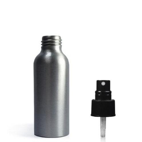 Refillable aluminium bottles