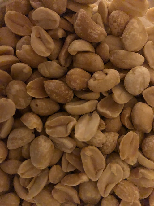 Organic roasted peanuts (100g)