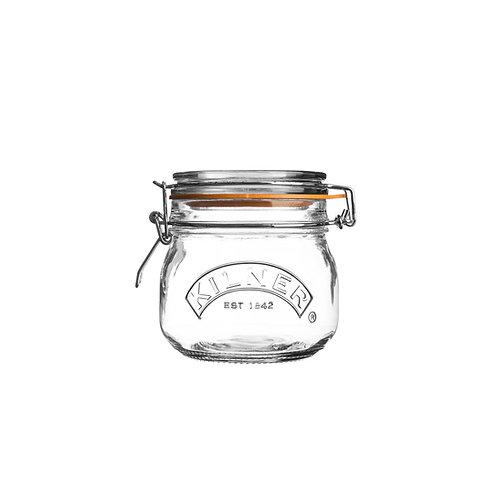 Kilner clip top round jar
