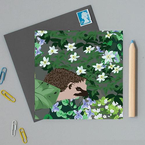 Watlington hedgehog card