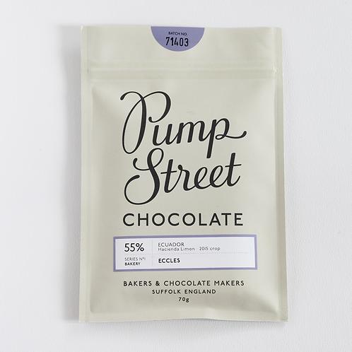 Eccles 55% chocolate bar (70g)
