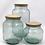 Thumbnail: Recycled glass hurricane storage jar - medium