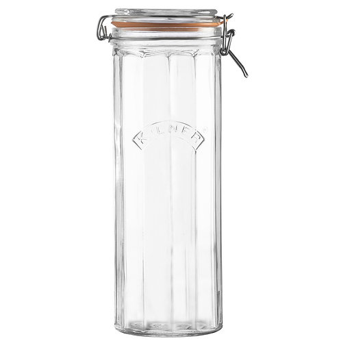 Kilner facetted clip top jar