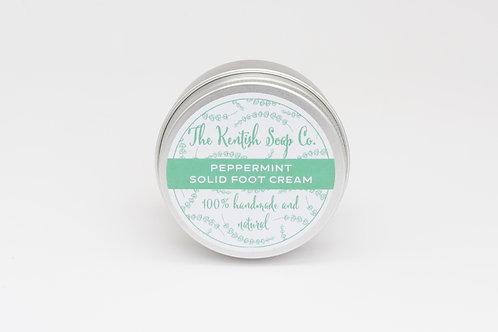 Kentish Soap Company solid foot cream