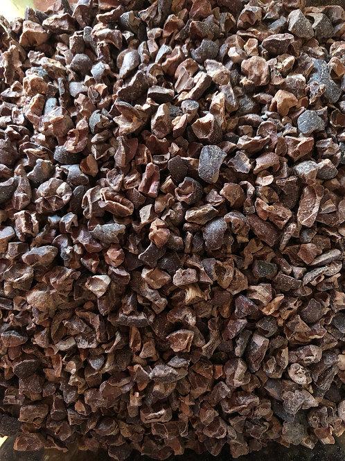 Organic raw cacao nibs (100g)