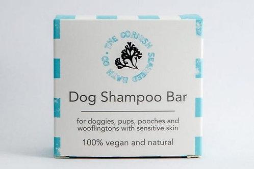 Dog shampoo bar