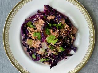 Healthier Sesame Chicken & Veggies