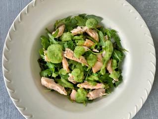 Cilantro-Lime Salmon Bowl