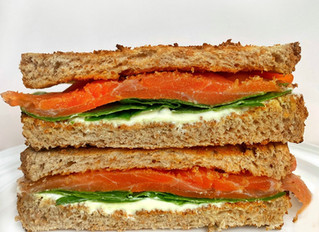 Lemon-Dill Salmon Sandwich