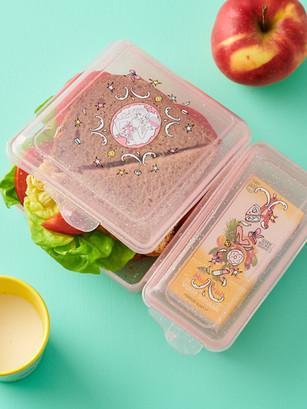 Jill - Lunchbox met glitters
