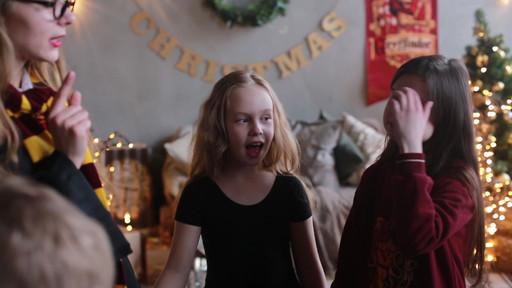 Рождество в гостиной Гриффиндора