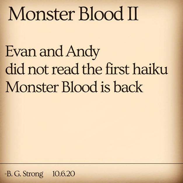Monster Blood II