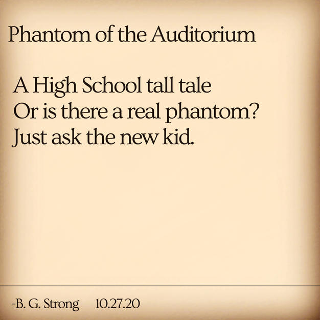 Phantom of the Auditorium