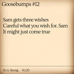 Goosebumps #12