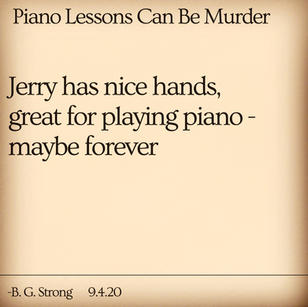 Piano Lessons Can Be Murder