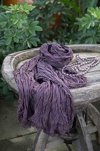soft silk Raffle scarf