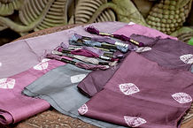 Orchid Grey fabrics & colours