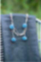 pom-pom necklace