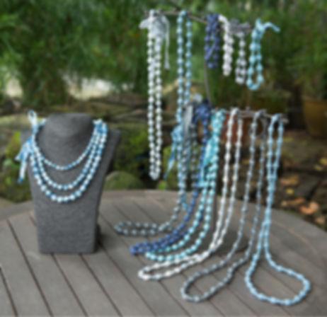 silk bead necklaces