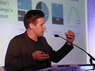 Tom speaking at KBB Digicom 2018