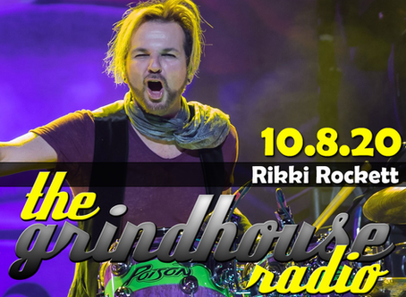 Rikki Rockett of Poison Joins The Grindhouse Radio