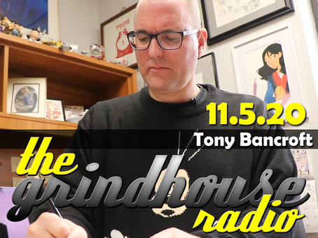 Disney Animator & Director Tony Bancroft Joins The Grindhouse Radio