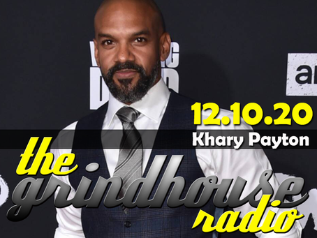 Actor Khary Payton Joins The Grindhouse Radio