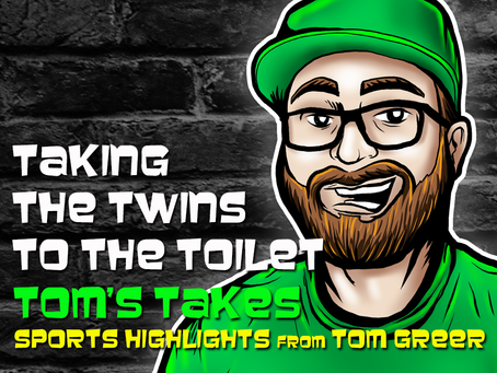 Tom's Takes: Taking the Twins to the Toilet