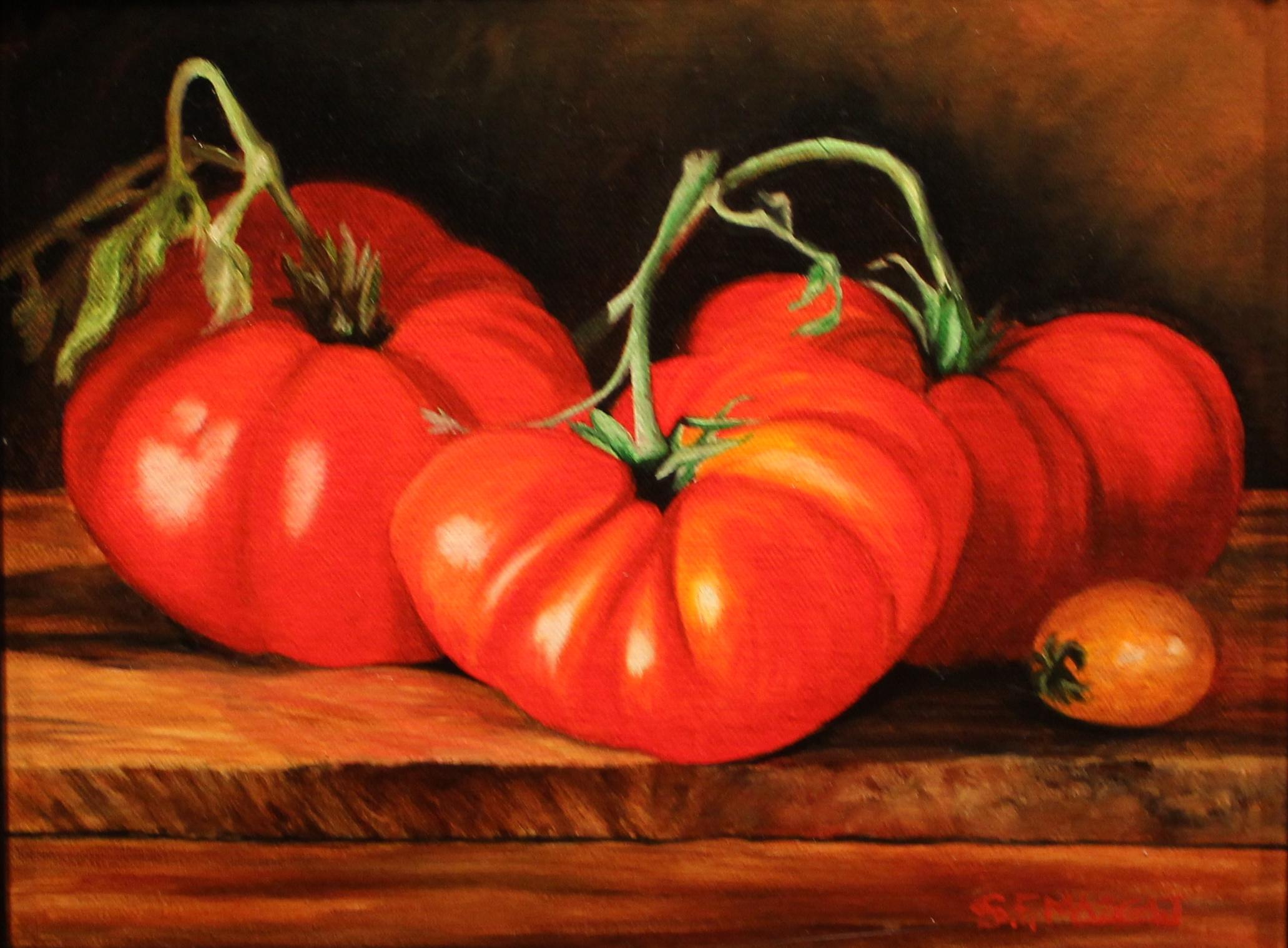 4 Heirloom Tomatoes