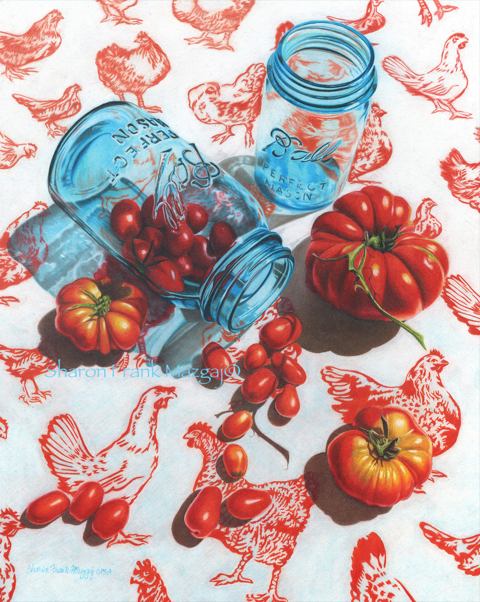 Chicks & Heirloom Tomatoes