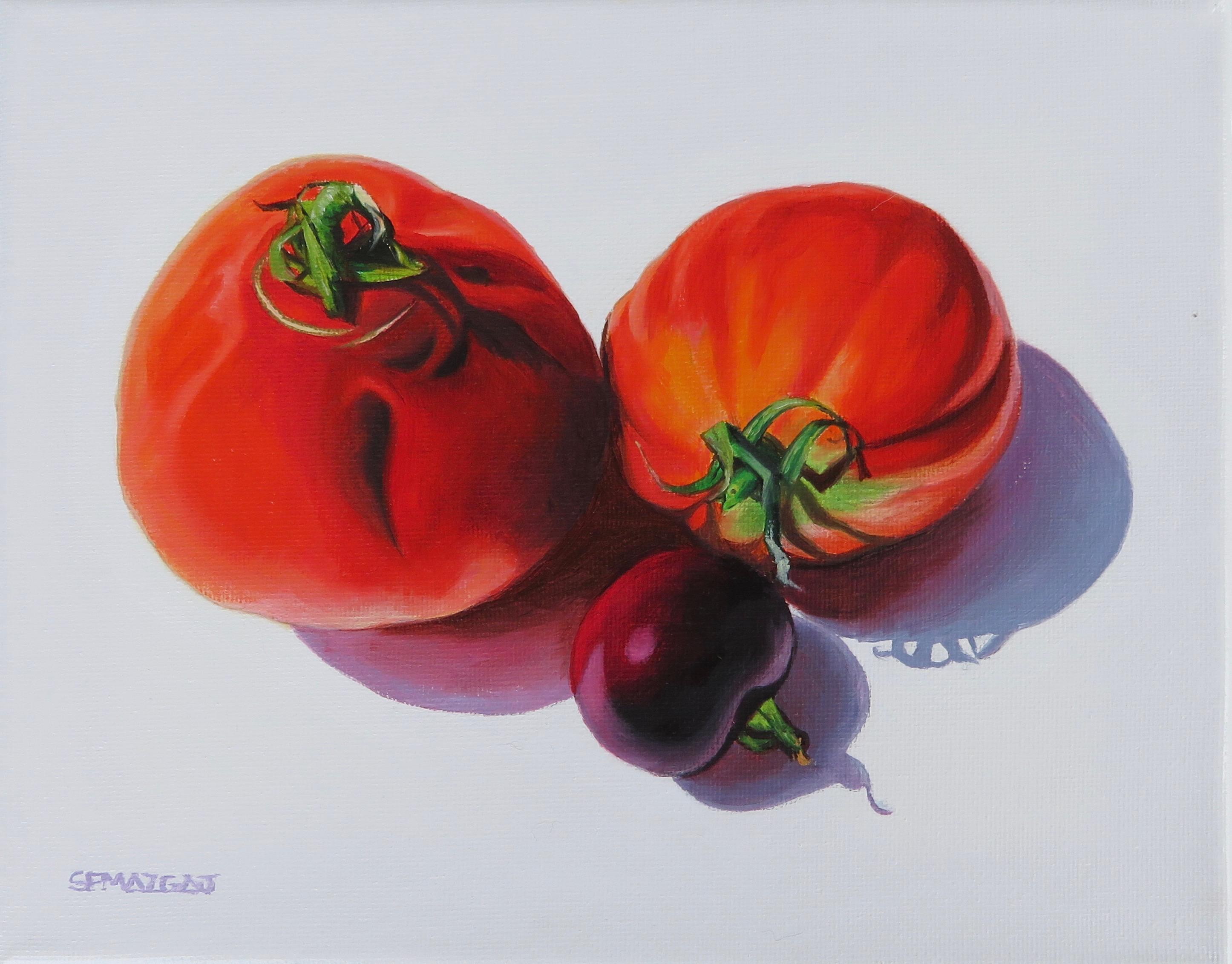 3 Heirloom Tomatoes