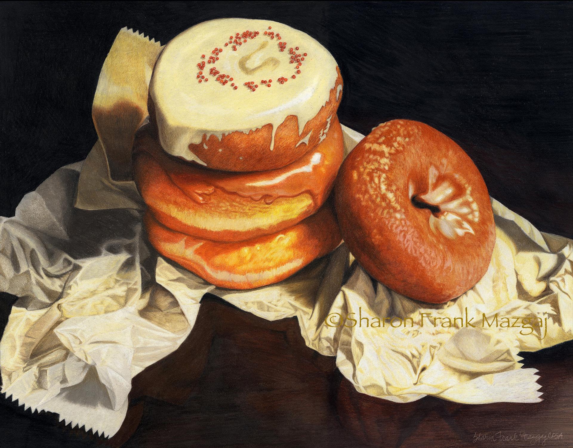 Donut Still Life