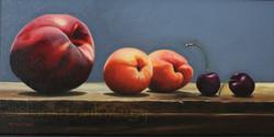 Peach, Nectarine & Cherries
