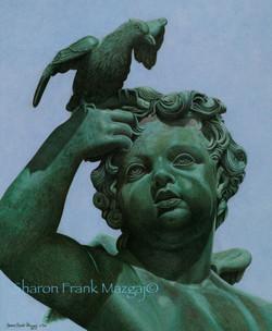 Angel; Versailles, France