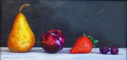 Pear, Plum, Strawberry & Blackberries cr
