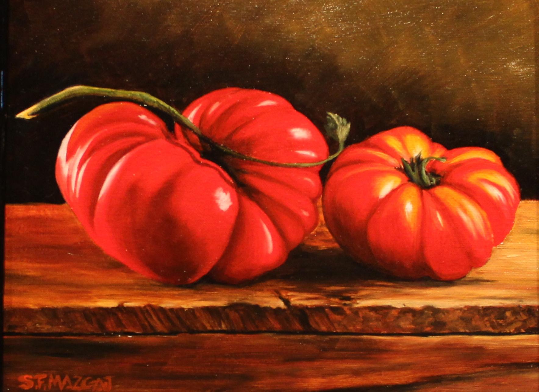 2 Heirloom Tomatoes