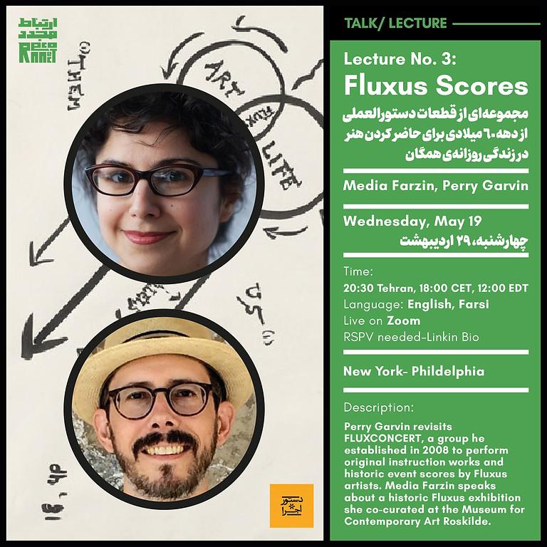 Lecture No. 3:  Fluxus Scores