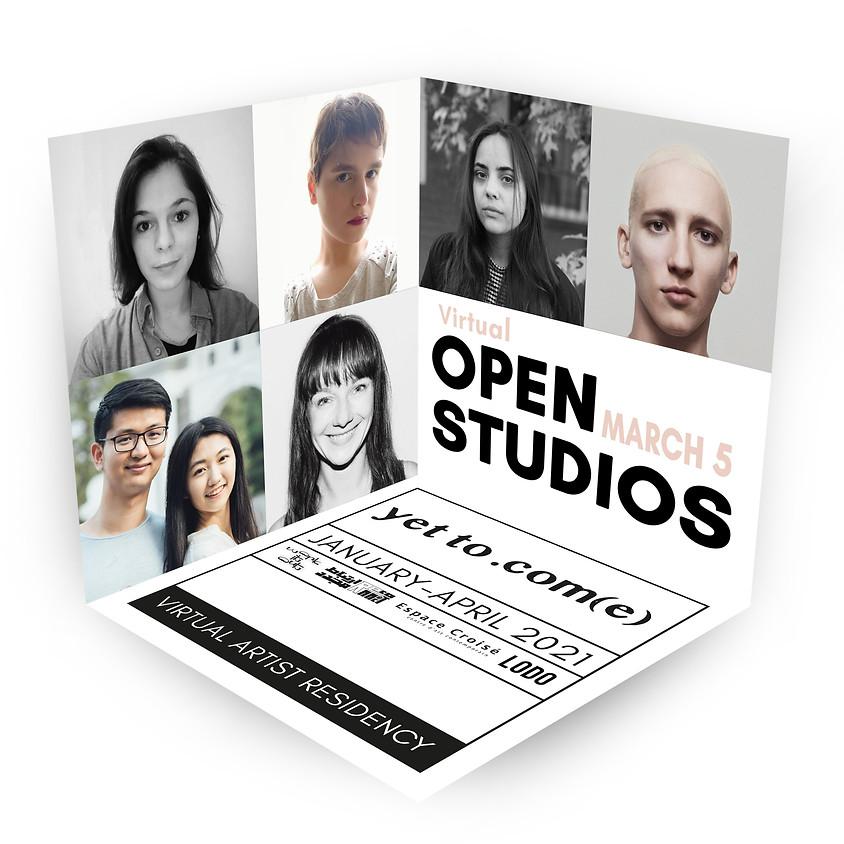 OPEN STUDIOS | YET TO .COM(E)