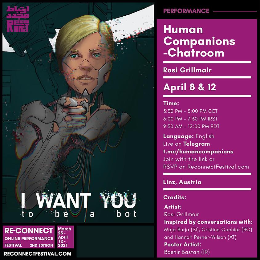 Human Companions - chatroom