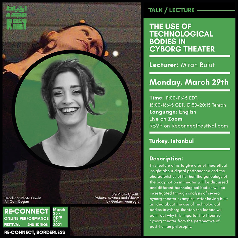The Use of Technological Bodies in Cyborg Theater