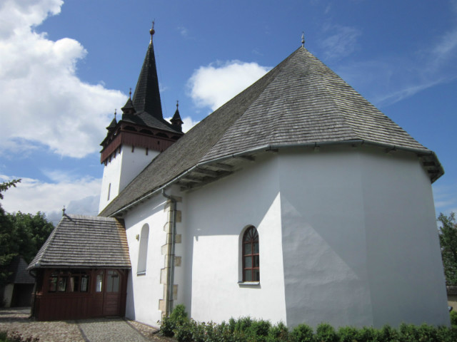 Kalotaszentkirályi templom