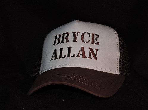 Bryce Allan Mesh Back Trucker Hat